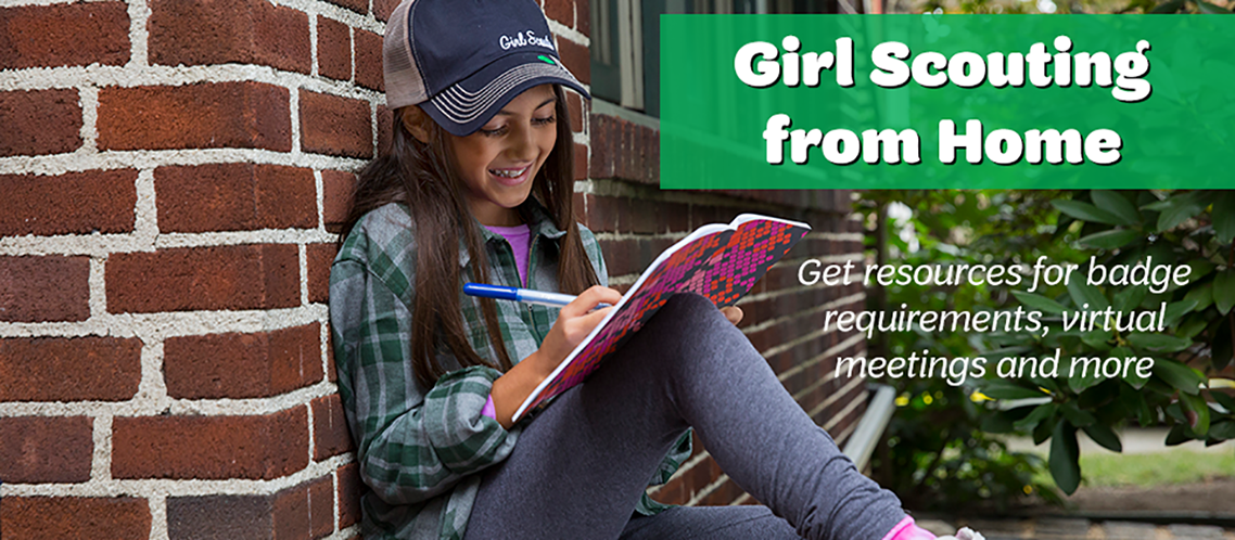 Earn Girl Scout badges from home with these easy-to-follow guides